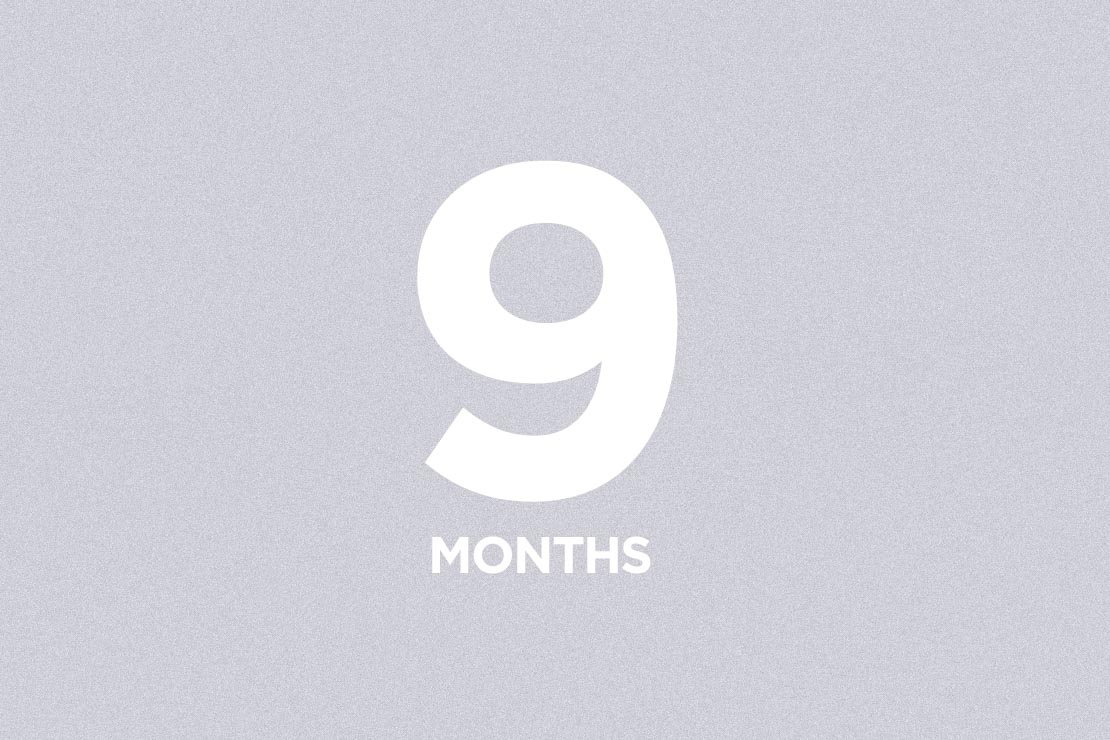 9 Month Membership - $364 (save 10%)