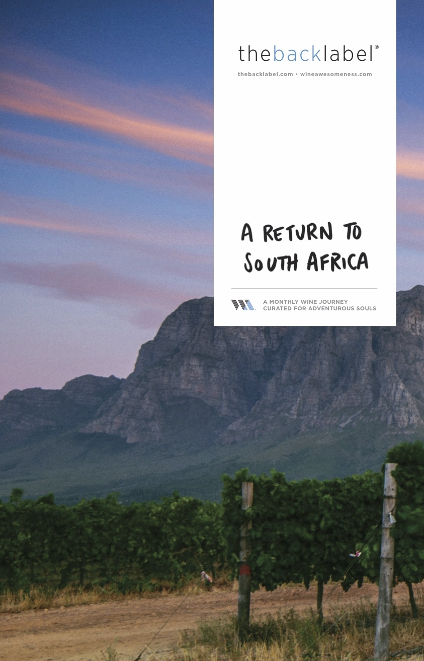 A Return to South Africa