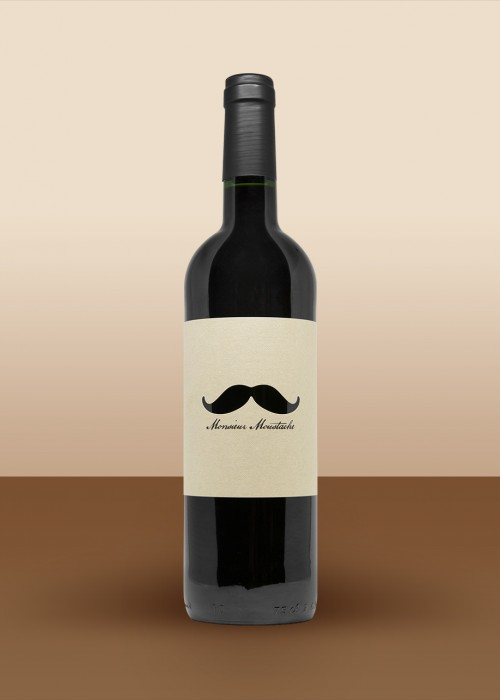 2014 Monsieur Moustache, Red Bordeaux