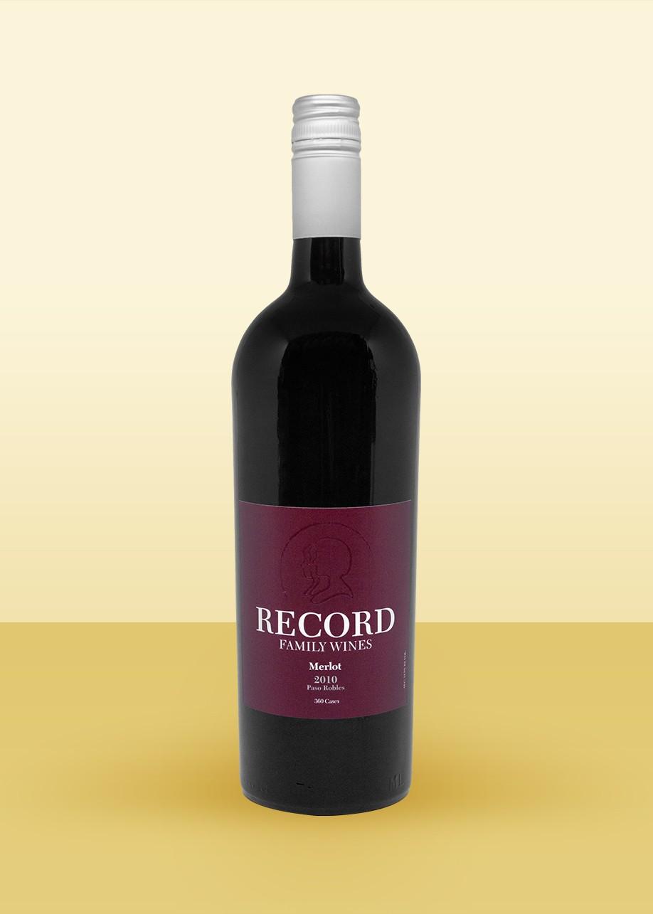2010 Record Family Wines, Merlot